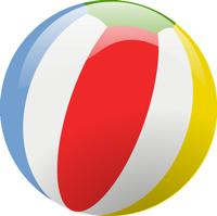 brand 24 beach ball